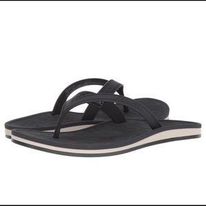 Brand New with Tags Navy COACH flip flops